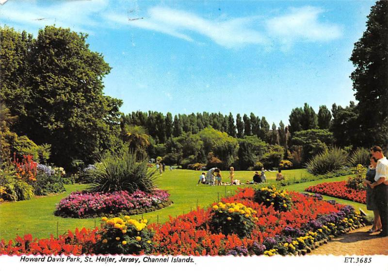 3b4b927f454a Channel Islands, Jersey, St. Helier, Howard David Park   HipPostcard