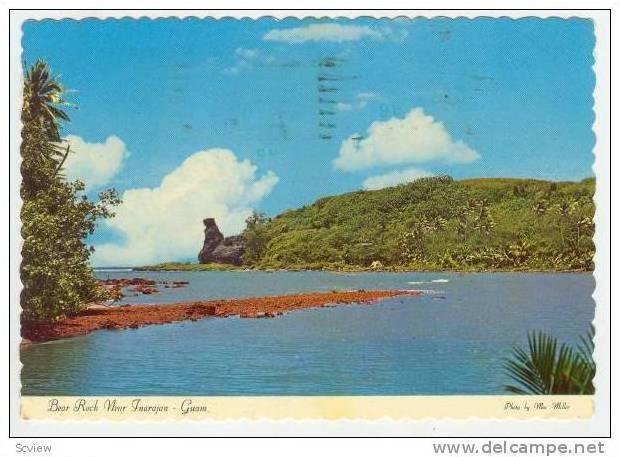 Bear Rock near Inarajan, Guam PU-1980