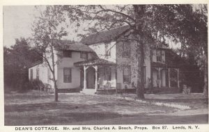 LEEDS , New York , 1910s ; Dean's Cottage