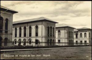 colombia, BOGOTA, Pabellones del Hospital San José (1930s)