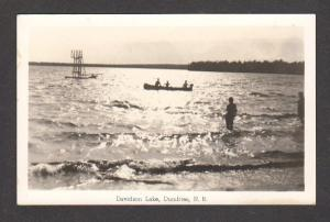 NB Davidson Lake DUMFRIES New Brunswick Carte Postale Real Photo RPPC Postcard