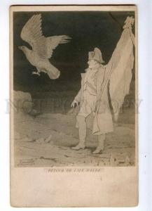 235135 Island of Elba NAPOLEON Eagle Vintage ART NOUVEAU PC