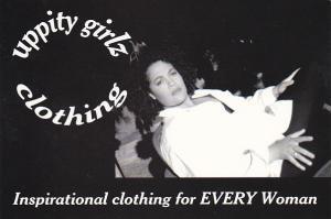 Advertising Uppity Girlz Clothing Vancouver Canada