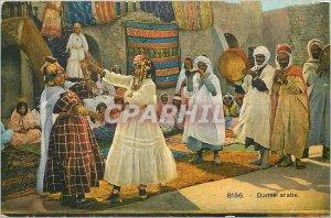 Old Postcard Arabic Dance