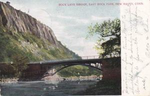 Rock Lane Bridge at East Rock Park - New Haven CT, Connecticut - pm 1906 - UDB