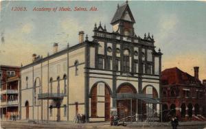 F15/ Selma Alabama Postcard 1916 Academy of Music Building