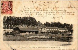 CPA VILLEROY - Les Docks de MEAUX (Entrepot A. Minost et Cie) (292964)