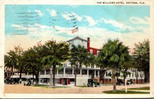 Florida Daytona The Williams Hotel 1928 Curteich