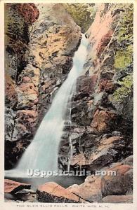 The Glen Ellis Falls White Mountains NH Unused