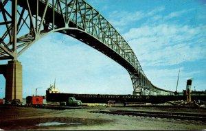 Michigan Port Huron The Famous Blue Water Bridge