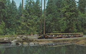 Miniature Train , Vancouver , B.C. , Canada  , 50-60s