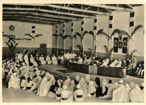 PC CPA LIBIA, AVVENIMENTI, Vintage REAL PHOTO Postcard (b16640)