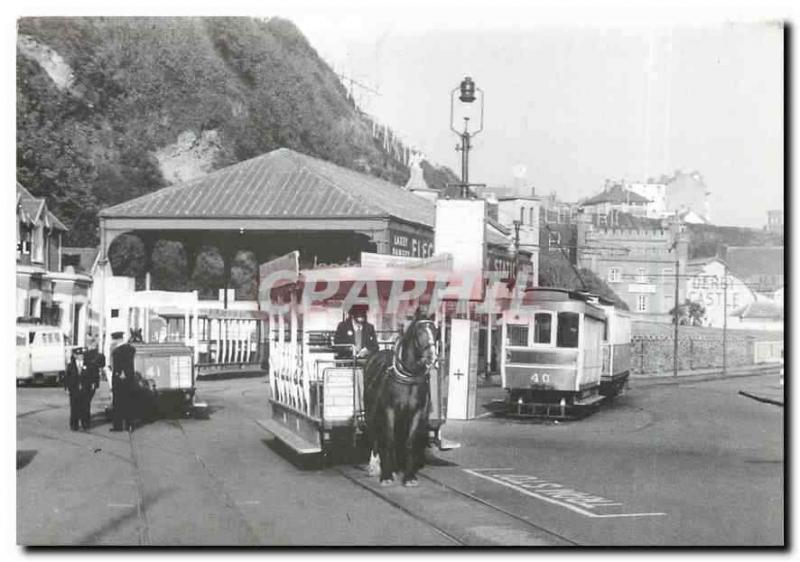 CPM Douglas Derby Castle. Horse trams on the left and the Manx Electric Railway