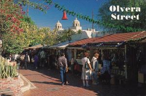 Olvera Street Los Angeles Californa