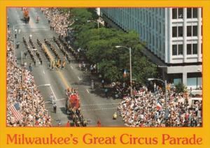 Wisconsin Milwaukee Great Circus Parade