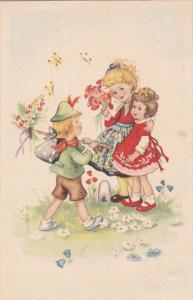 Children and flowers, 00-10s