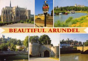 Postcard Multiview BEAUTIFUL ARUNDEL West Sussex