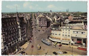 Luxembourg; Avenue De La Liberte PPC Unposted, By Sibenaler, C 1950's
