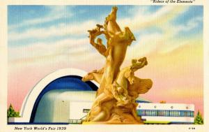 NY - 1939 New York World's Fair. Riders of the Elements