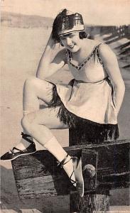 Girl with Hat Glamour Mutoscope Unused