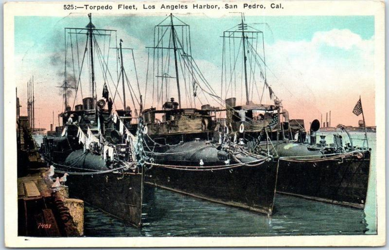 San Pedro, California Postcard