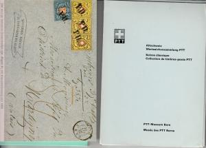 Swiss Postal Museum Folder w/ 12 Cards & Booklet