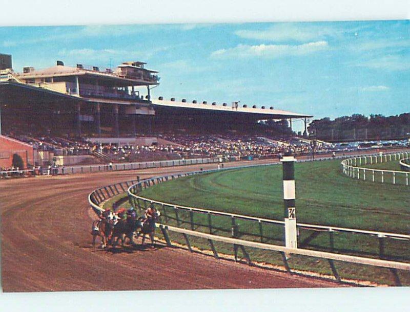 Chrome HORSE RACING SCENE Wilmington Delaware DE AG5448