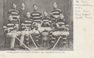 OTTAWA , Ontario , Canada, 1905 ; Stanley Cup Ice Hocket Team Champions