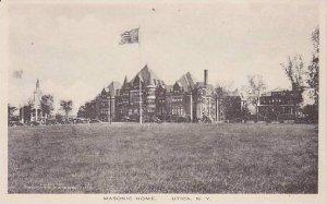 New York Utica Masonic Home Albertype