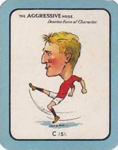 Carreras Vintage Large Carreras Cigarette Card Nose Game No C5 The Aggressive...