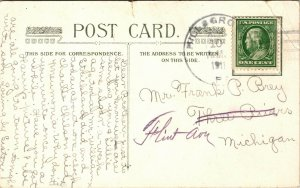 Victorian Couple I WOULD LIKE TO BE YOUR GIRLIE Vintage c1910 Romantic Postcard