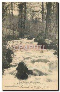 Old Postcard Creuse Rozeille picturesque Valley of Un Coin de la Riviere