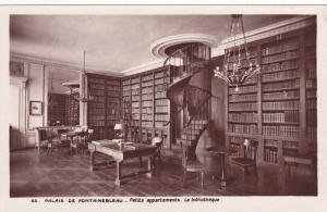 RP; Palais de Fontainebleau, Patits appartements, La biblotheque, Paris, Fran...