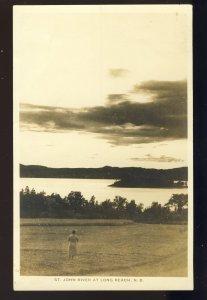 Long Reach, New Brunswick, /N.B., Canada Postcard, St John River, 1932!