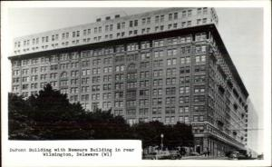 Wilmington DE DuPont Bldg Real Photo Postcard rpx