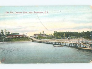 Pre-chrome BOAT SCENE Providence Rhode Island RI AF5384