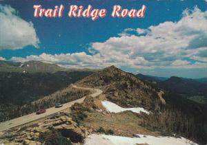 Colorado Rocky Mountains National Park Trail Ridge Road 1999
