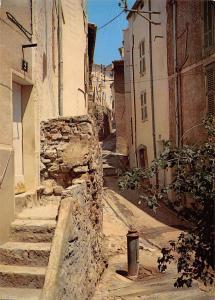 France Hyeres Les Palmiers Ruelle Pittoresque Cote d'Azur