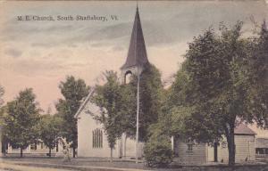 M. E. Church, South Shaftsbury, Vermont, 1900-1910s