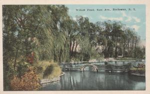 Willow Pond on East Avenue - Rochester, New York - WB