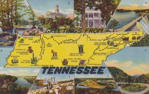 Tennessee Greetings From Tennessee 1959