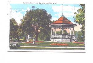 Bandstand Public Gardens Halifax Nova Scotia, Used 1926