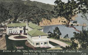 AVALON , Catalina Island , California , 1900-10s; Home of Wm Wrigley Jr