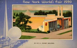 NY - New York World's Fair, 1939. RCA Exhibit Building