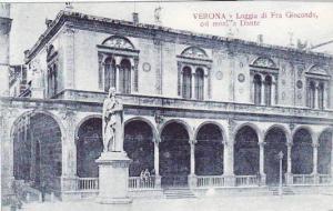 Italy Verona Loggia di Fra Giocondo