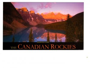 Moraine Lake, Alberta, Canadian Rockies,  Lee Simmons Photograph 4 X 7 inches
