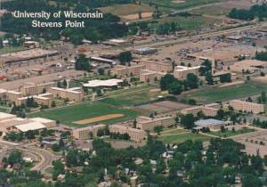 Wisconsin Stevens Point Aerial View University Of Wisconsin 1991