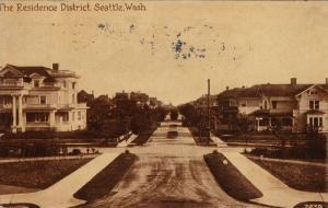 The Residence District,Seattle,Washington,PU-1912