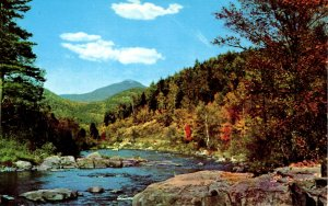NY - Ausable River & Whiteface in Distance
