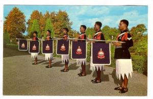 Fiji Police Force Fanfare Trumpeters , 40-60s